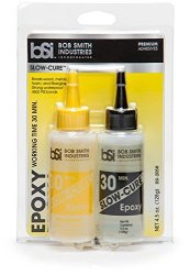 Bob Smith Industries Incorporated Bob Smith Industries BSI-205 Clear 30 Minute Epoxy 4.5 Oz. Combined