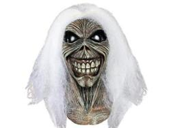 Trick Or Treat Studios Iron Maiden Killers Full Head Mask Grey White One-size