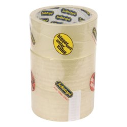 Sellotape - Diy SA1281 Packaging Clear 48X50 3 Tower Pack