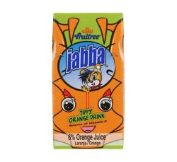 Fruitree Jabba Juice Orange 24 X 160ML