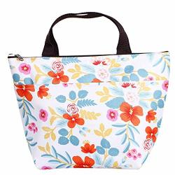 Thermal Nuwfor Portable Insulated Cooler Bag Lunch Picnic Carry Tote Storage Case Box Multicolor-d
