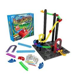 ThinkFun Roller Coaster Challenge Stem Toy And Building Game For Boys And Girls Age 6 And Up Toty Game Of The Year Finalist