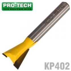 PRO-TECH Dovetail Bit 1 2' 1 2' 1 4'shank