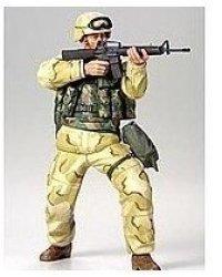 - 1:16 Mod. Us Infantryman Desert Plastic Model Kit