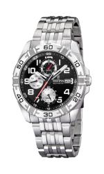 Festina Estuche Multi-function Analogue Men's Wrist Watch - Black F16494-2