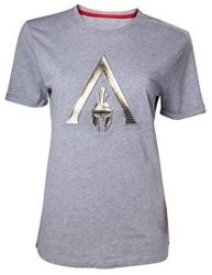 Difuzed Assassin's Creed Odyssey - Embossed Odyssey Logo Women's T-Shirt Large