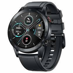 Original Huawei Honor Watch Magic Watch 2 Minos 46MM Smartwatch 1.39 Amoled Always-on Display 5ATM 14DAYS Battery Life With MIC Sport Carbon Black
