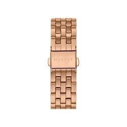 16MM Misfit Smartwatch Stainless Steel Link Bracelet Band Color: Rose Gold-tone MIS9269