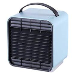 Chicoco Cooling Fanportable MINI USB Charge Cooling Fan Air Conditioner Purifier Cooler Humidifier - Blue