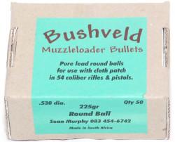 Bushveld Bullets  Bushveld Muzzleloader Round Balls  530 Dia  225gr - 50 |  R62 00 | Firearms | PriceCheck SA