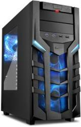 Sharkoon 4044951018215 DG7000 Atx Tower PC Gaming Case Blue With Side Window - USB 3.0 Mounting Possibilities: 1X 5.25 1X 5.25 Or 3.5 1X