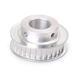 Luckmart Timing Pulley 20MM Bore XL30 Teeth Aluminum Synchronous Wheel For 3D Printer 10MM Width Belt