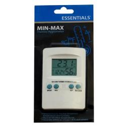 Essentials Digital Min-max Thermo Hygrometer - Hydroponic Testing Equipment
