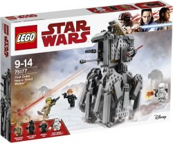 LEGO Star Wars First Order Heavy Scout Walker for Boys