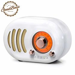 Vintage Bluetooth Speaker Retro Radio-wireless Speaker Portable Fm Radio With Classic Style Bluetooth 4.2 Tf Card Slot Aux Input