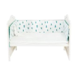 Iconix Cot Bumper - Forest