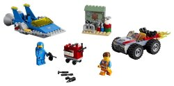 Lego Movie Emmet And Benny's 'build And Fix' Workshop 70821