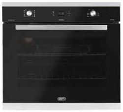 Defy DBO474 70cm Gemini Petit Chef Oven in Black