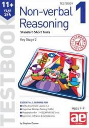 11+ Non-verbal Reasoning Year 3 4 Testbook 1