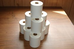 "Labels And More 250 4"" X 6"" Direct Thermal Zebra 2844 Zebra 2843 2844Z Labels Eltron 6 Roll"