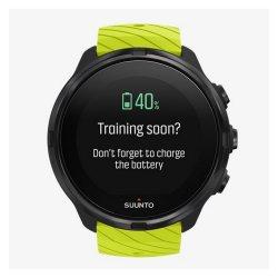 Suunto 9 G1 Sport Watch in Black & Lime