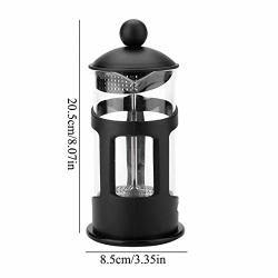 French Presses Coffee Maker 350 600 1000ML Portable Manual Filter Pot Household Coffee Machine Coffee Pot Percolator Tool 600ML