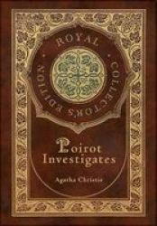 Poirot Investigates Royal Collector& 39 S Edition Case Laminate Hardcover With Jacket Hardcover