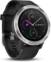 Garmin Vivoactive 3 in Black & Stainless Steel