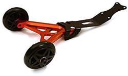 USA Integy Rc Model Hop-ups C28688RED Billet Machined Wheelie Bar For Traxxas 1 10 Slash 4X4 Non-lcg