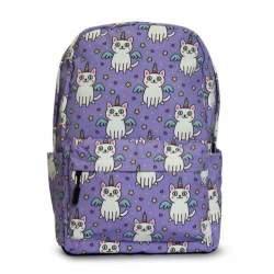 SIDEKICK Kids Backpack - Unicorn Cat - Lilac