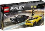 Lego Speed Champions 2018 Dodge Challenger Srt Demon And 1970 Dodge Charger R t
