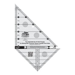 Creative Grids 10 Degree 16 Triangle Quilting Ruler Template CGRT10
