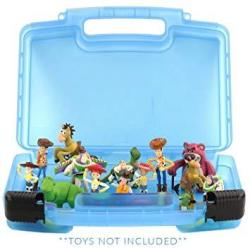 Life Made Better Flush Force Case Toy Storage Carrying Box. Figures Playset Organizer. Accessories For Kids By Lmb