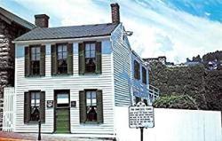 The Mark Twain Boyhood Home At Hannibal Mo Usa Unused