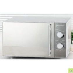 Russell Hobbs - 20L Classic Manual Mwo Microwave - 700W Mirror Finish