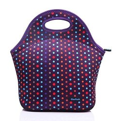 8a0895f584c1 Cosfash Neoprene Lunch Tote Insulated Reusable Picnic Lunch Bags Boxes For  Men Women Adults Kids Toddler Nurses Purple | R2110.00 | Educational | ...