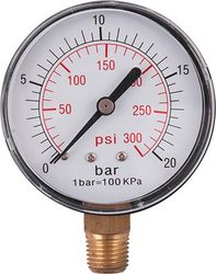 GAV Pressure Gauge 0-16bar 1 4lower63mm