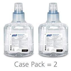 Purell LTX-12 Advanced Green Certified Hand Sanitizer Foam Fragrance Free 1200 Ml Ecologo Certified Sanitizer Refill For Purell