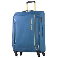 PIERRE CARDIN Ultralight 75CM 4 Wheel Blue