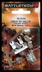 Battletech 20-5104 Orochi Mech
