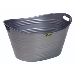 Addis - 28L Plastic Oval Tub With Handles
