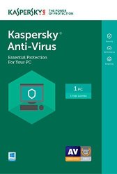 Kaspersky Anti-virus 2017 1 Device 1 Year Download Online Code