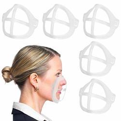 Bracket Mask Frame Support 3D Mask Silicone Mask Inner Support Frame Holder - 5 Pack