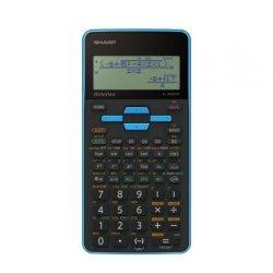 Sharp EL535 Scientific Calculator 330 Functions Blue