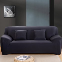 Calasca Fine Living 2 Seater Couch Cover Black Free Shipping
