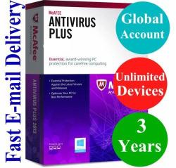 Mcafee Antivirus Plus Unlimited Device 3 Year Account Subscription 2019 |  R1693 00 | Electronics | PriceCheck SA