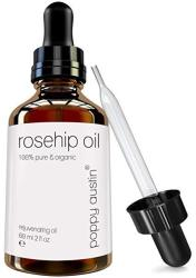 Pure Rosehip Oil By Poppy Austin - Vegan Cruelty-free & Organic Cold Pressed Rose Hip Seed - To Soften & Hydrate Your Entire Bod