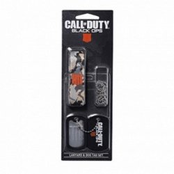Call Of Duty Black Ops 4: Lanyard & Dog Tags