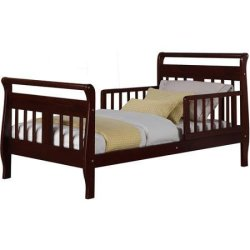 Baby Relax Sleigh Toddler Bed Espresso | Reviews Online ...