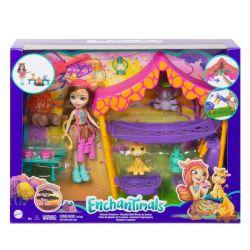 Savannah Sleepover Playset With Griselda Giraffe Doll